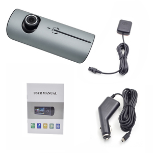 "Dual lens Camera Car DVR R300 with G-Sensor GPS 3D G-Sensor 2.7"" TFT LCD Cam Video / car camera hd dvr"