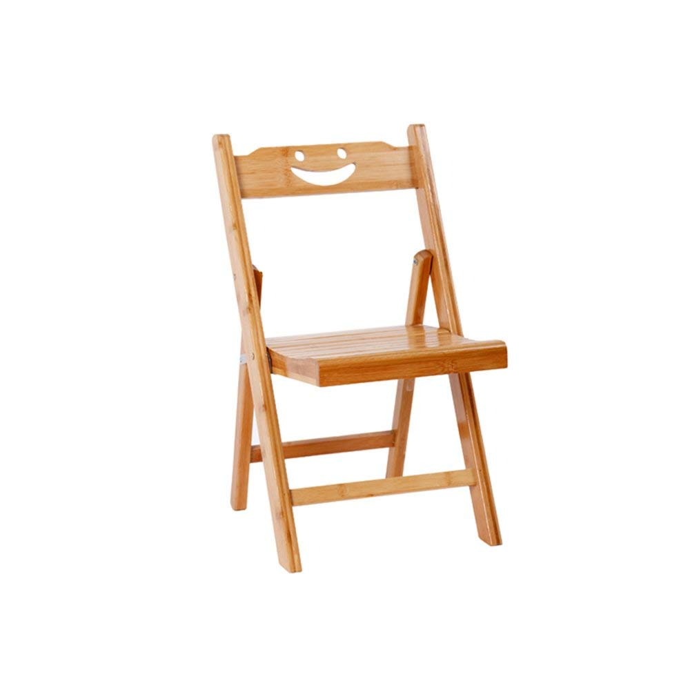 ALUS- Bamboo folding chair/backrest chair/solid wood simple folding chair/dormitory single chair/stool/child folding chair/solid wood chair/two sizes/(3357cm, 3779cm)
