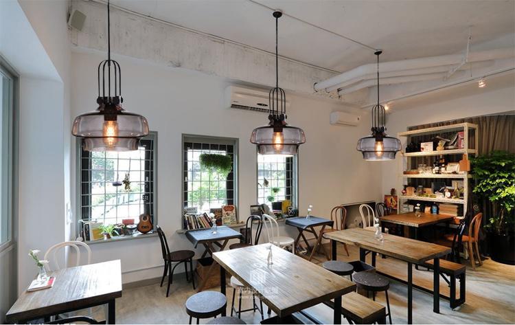 Oltre Il Soffitto Di Vetro : Design industriale lampada da soffitto in vetro luce del pendente
