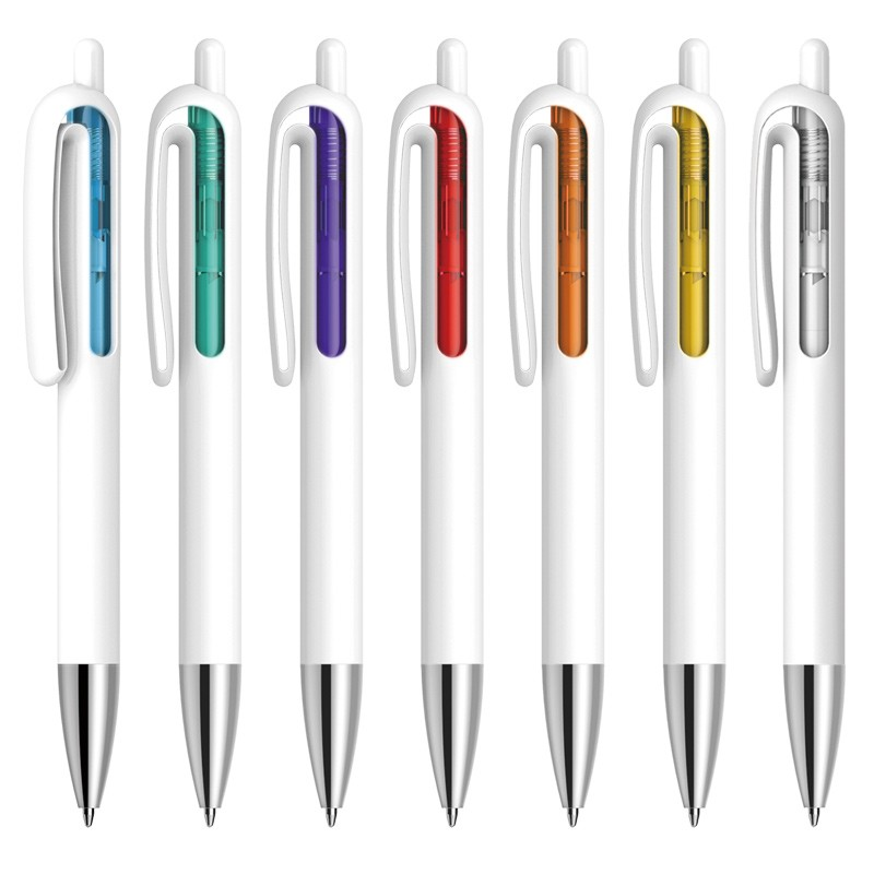 Transparent Window Plastic Personalised Ballpoint <strong>Pen</strong>
