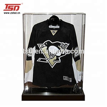 Custom clear acrylic jersey display case,garment display stand for t  shirts, View clear acrylic jersey display case, TSD Product Details from