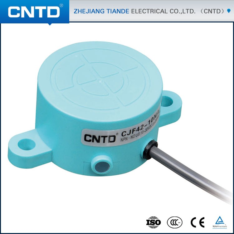 CNTD New Proximity Sensor IP67 Capacitive Sensor 10MM High-end Type CJF42-10NA