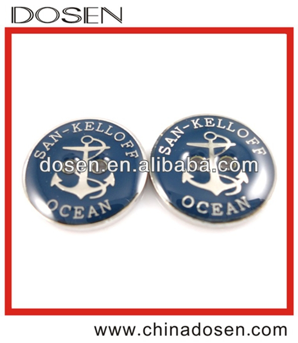 decorative nail buttons,dress shirt buttons,alloy shank button
