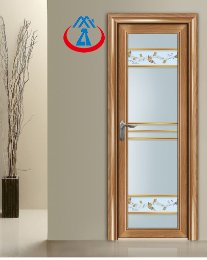 product-Zhongtai-AluminiumTempered GlassSwing Door Toilet For House or Villa-img-1