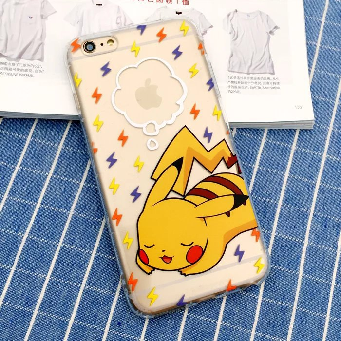 2016 hot pokemon game fans necessary mobile phone pokemon case/pokemon go <strong>accessories</strong> for iphone 7 case