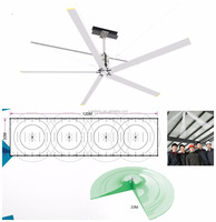 Visit Kalefans Low RPM Cheap AC HVLS Industrial Ceiling Fan