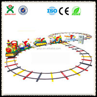 5 searter amusement park train rides for sale/ kiddie amusement rides train/ kid electric train QX-132C