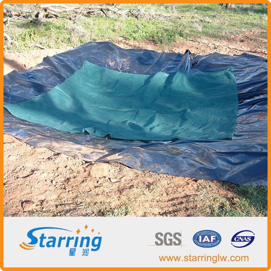 Epdm swimming waterproof epdm pond liner buy epdm for Blue koi pond liner