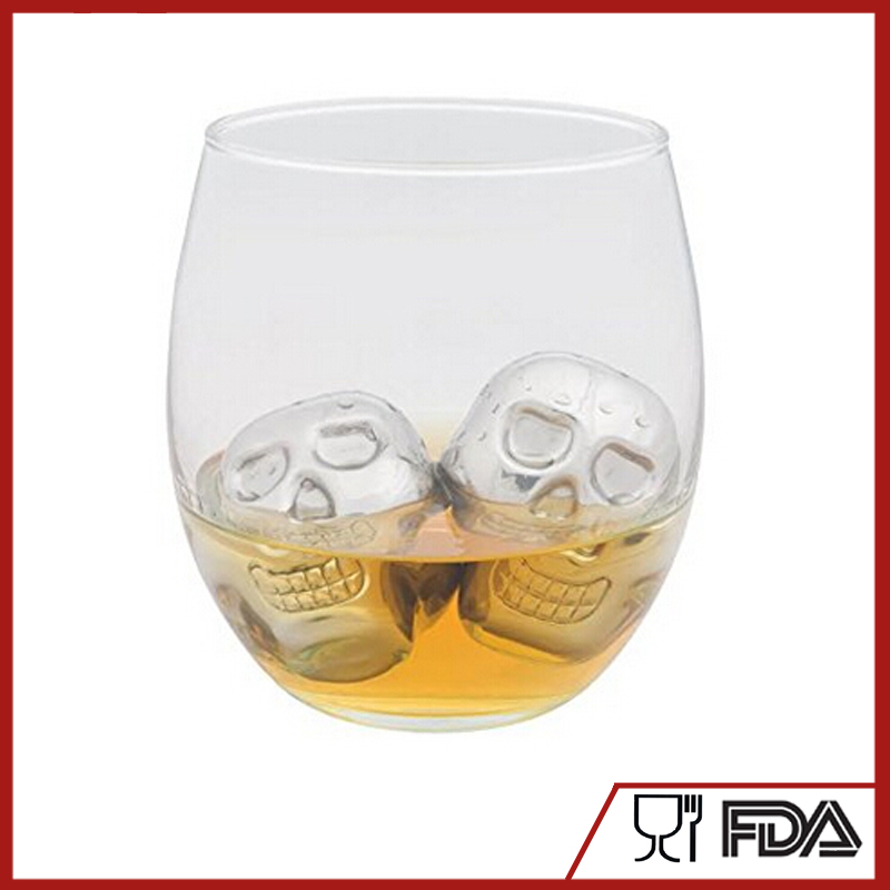 New christmas gift!!!bullet BPA Free Stainless Steel Ice Cube, Ice Cube Whisky Stone