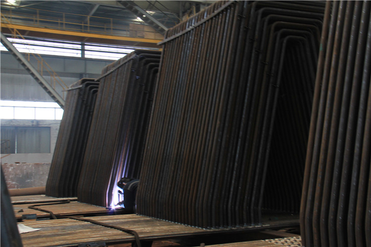 Red Boiler Water Wall Steel Water Wall Panel for Industrial Application and Power Plant