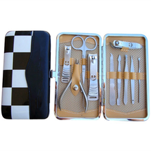 10 STKS Clippers Pincet Cuticle Kits Nail Beauty Perfect Salon Manicure Pedicure <span class=keywords><strong>Kit</strong></span>