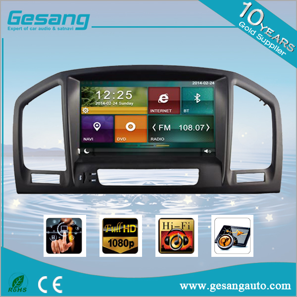 7 Inch double din car navigation and entertainment system dvd player for OPEL INSIGNIA