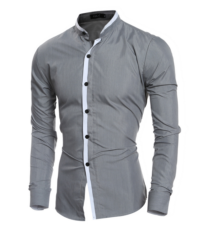 Nieuwe ontwerp hoge qualitymens business shirts italiaanse slim fit mannen office dress shirts