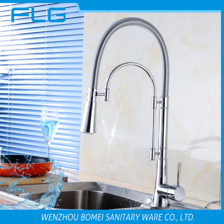 Pull Down LED Kitchen Faucet Touch Faucet Kitchen Tap Two Way Faucet Kitchen  Tap