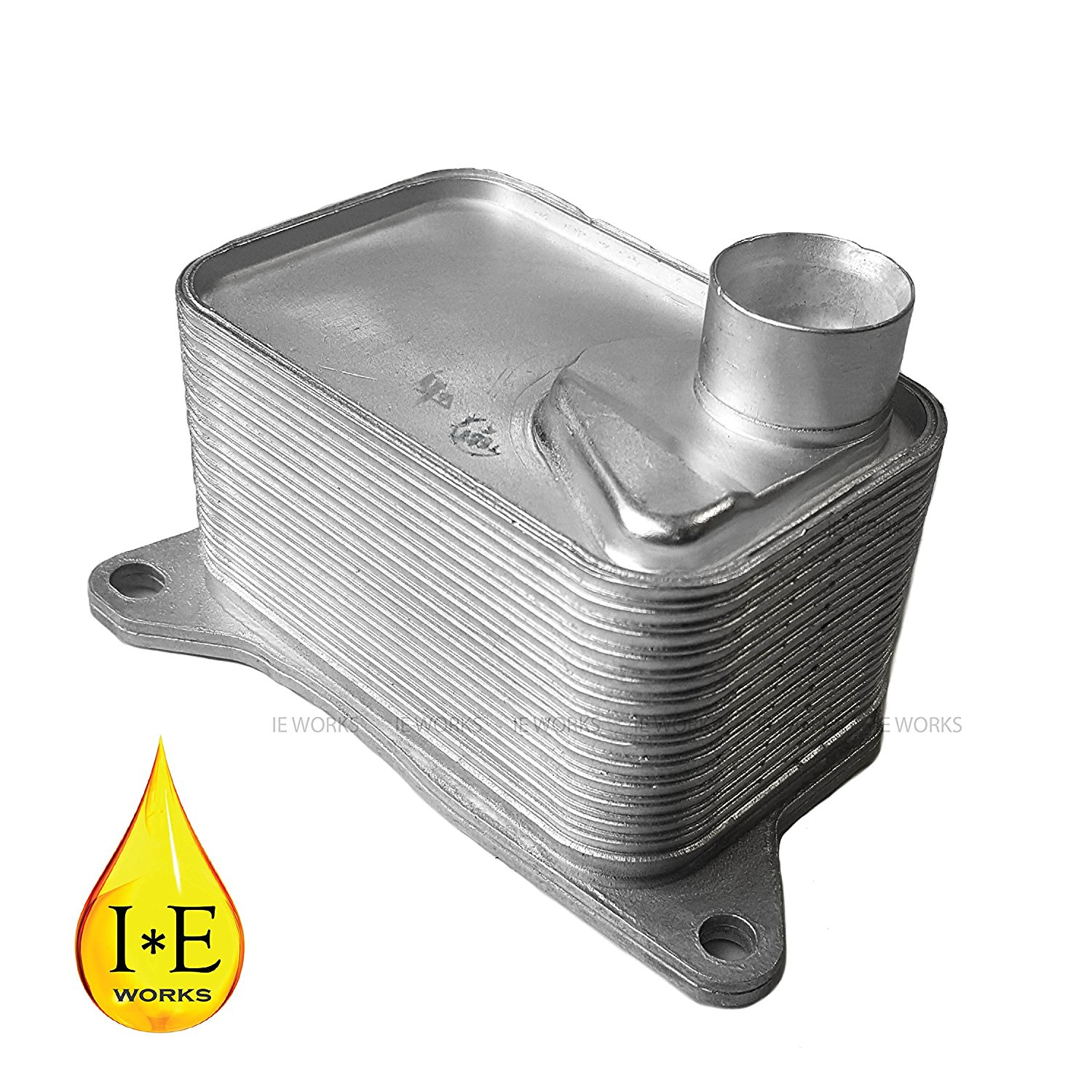 Get Quotations · New Engine Oil Cooler Volkswagen Golf Gti Golf R Audi A3  A6 06L117021E 2015 2016 1.8