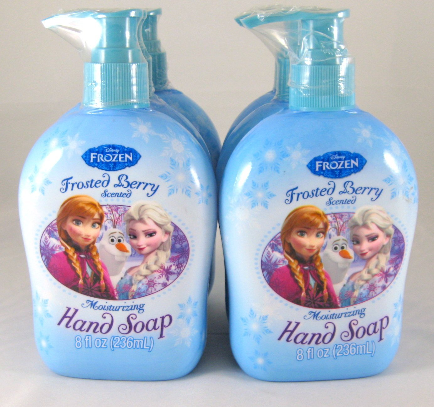 6 Pk, Disney Frozen Hand Soap 8 Fl. Oz Frosted Berry Scent
