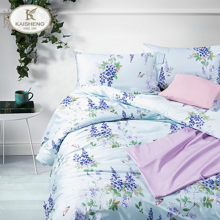 Custom Eco-Friendly Organic Cotton Soft Bed Linen Sheets for Home
