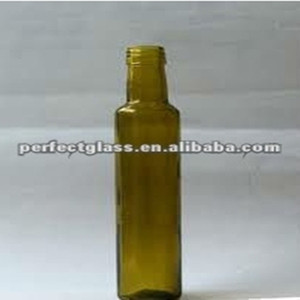 200ml empty olive oil bottles/olive oil color glass bottle