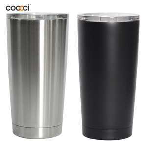 Free Sample 570ml private label stainless steel insulated 20oz tumbler water bottle