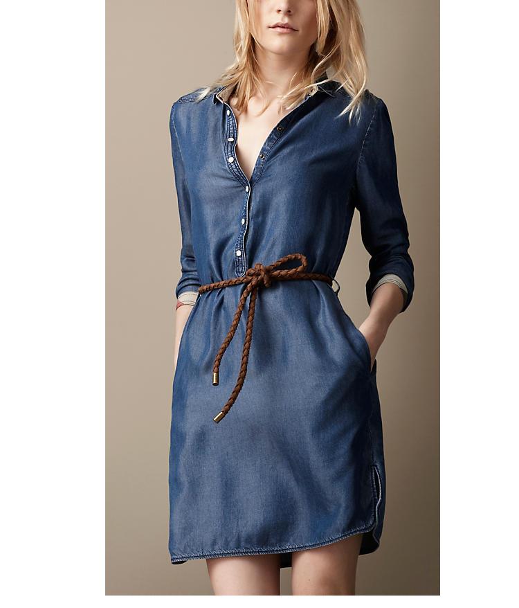 Джинсовые платья доставка