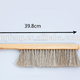 Factory Price Beekeeping Tool 2 Raw Bee Brush With Gray Horsehair