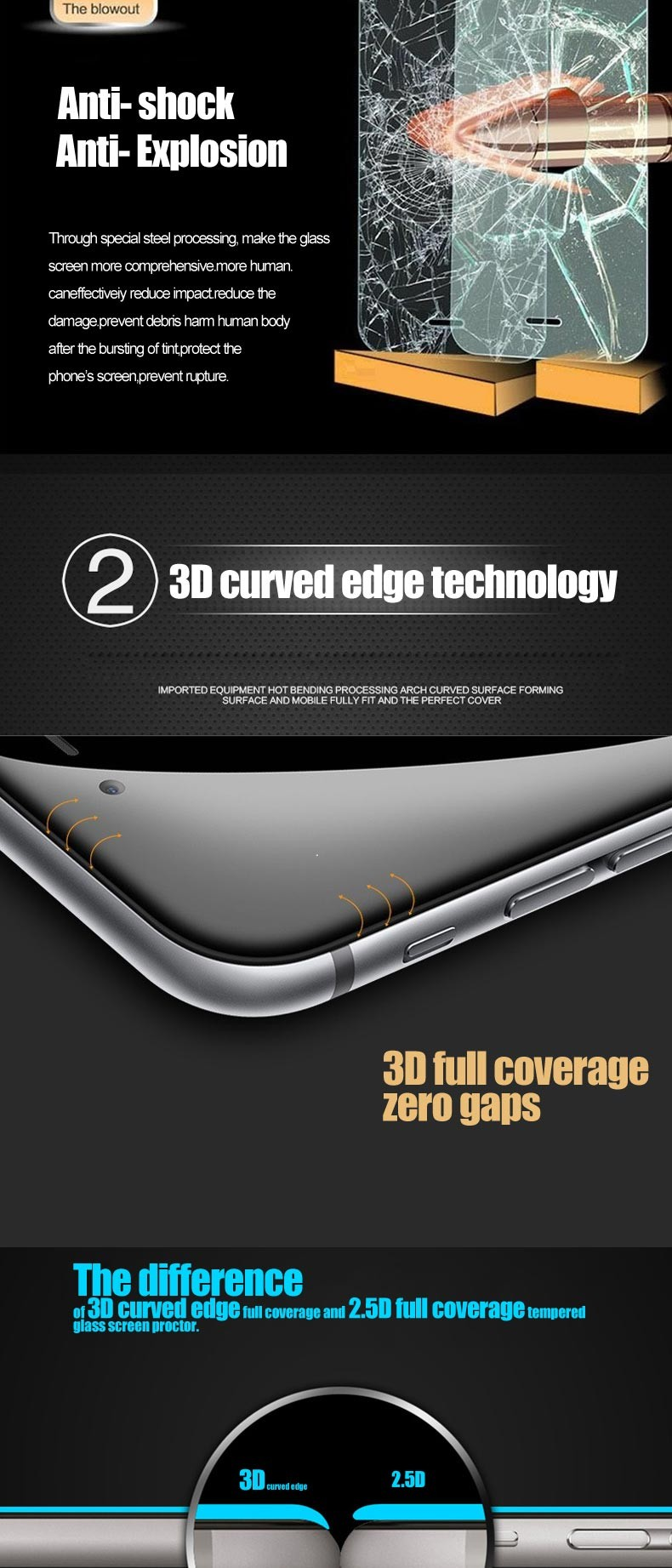 Factory Price 3d Curved Mobile Phone Screensavers For Iphone 6s - Buy  Mobile Phone Screensavers For Iphone 6s,3d Curved Mobile Phone Screensavers  For