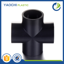 pvc pipe cross fittings top supplier in China SCH80 standard upvc cross fitting