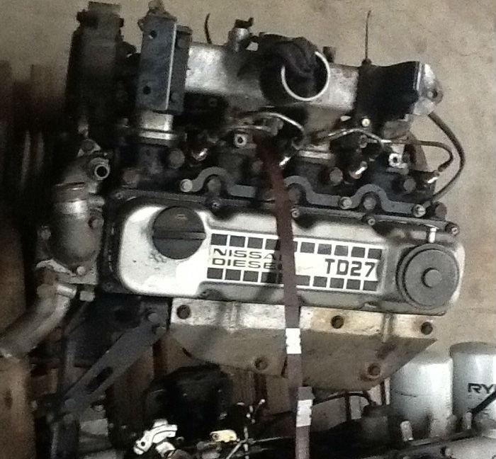 Td27t Cast Iron Diesel Engine Cylinder Head For Terrano Ii