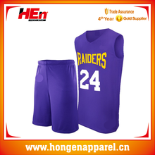 Hongen Apparel Wholesale Custom Basketball Uniform Philippines