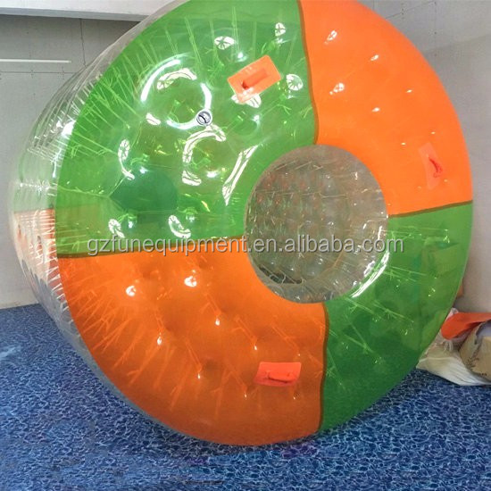 2.7 x 2.4 x 1.8m 1.0mm TPU Manufacture high quality inflatable water walking roller ball water roller ball