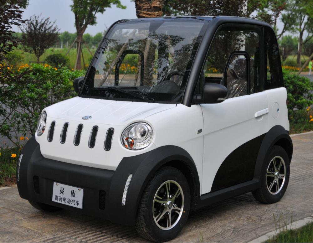 Mini Electric 4 Wheel 2 Seater Car Automobile Ac Motor For Vehicle