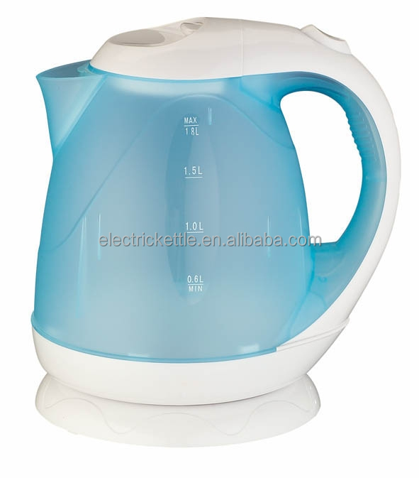 LED Indicator Groove Line plastic 1.7L Electric Kettle