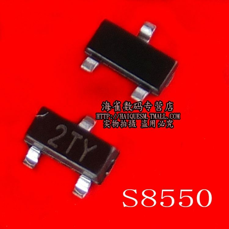 S8550 2TY Transistor SOT23 0.5A / 25V PNP SMD Transistor (50)--HQSM IC Electronic Component