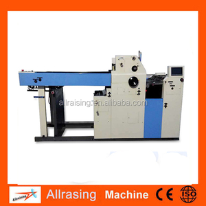 Custom one colour offset printing machine with CE&ISO