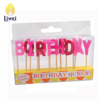 Creative Letters Birthday Candles Cake Toppers