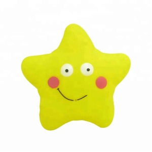 BPA Free Plastic Spray Water Vinyl Sea Star Rubber Starfish Squirt Bath Toy for kids
