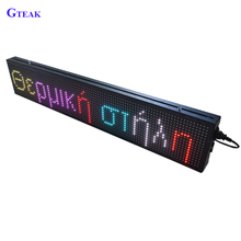Hot! P10 double sided outdoor scrolling led open sign for advertising