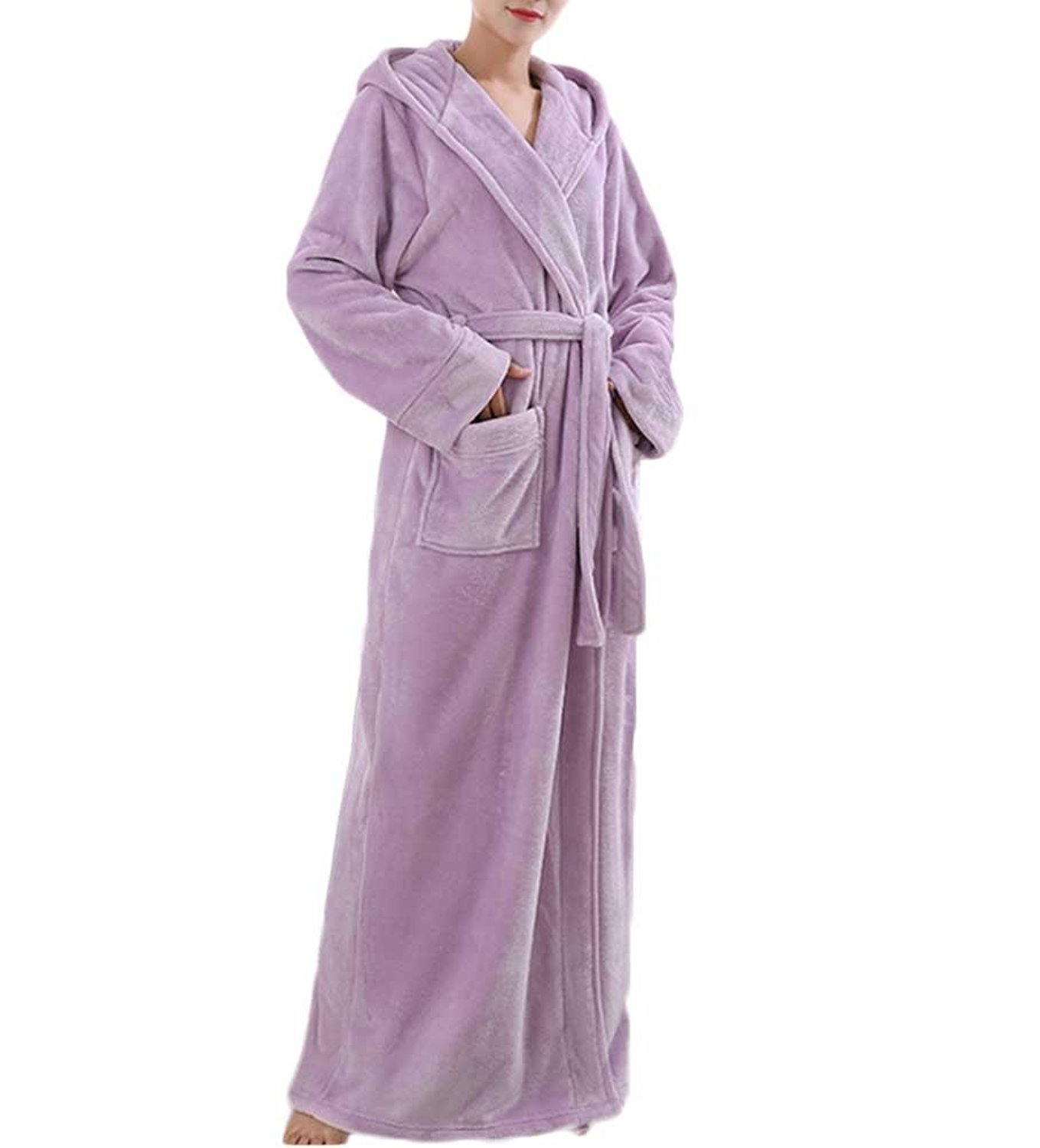 Get Quotations · Nanxson TM Women s Winter Thick Flannel Nightdress Warm  Nightgown Pajamas Bathrobe SYW0079 ac8c781e3