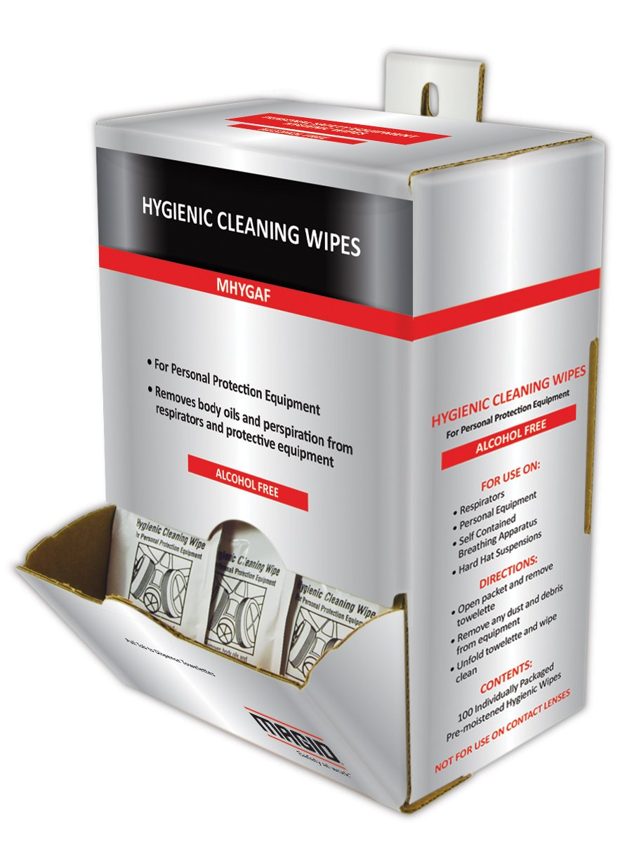 Magid Glove & Safety MHYG-AF MHYGAF Alcohol-Free Hygienic Wipes (Pack of 100)