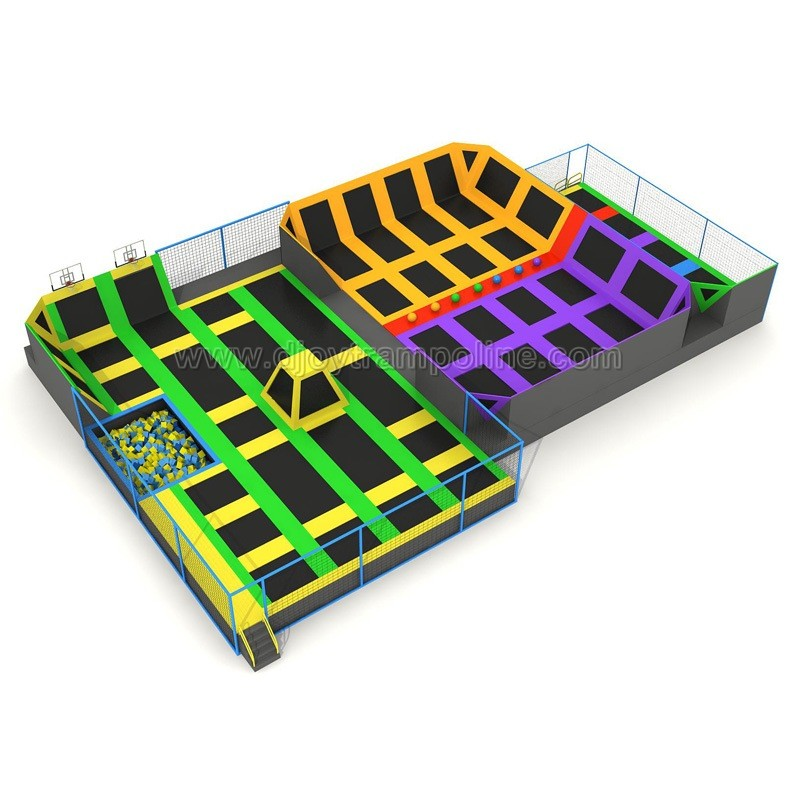 Trampoline Elastic Mat For Amusement Parks Indoor