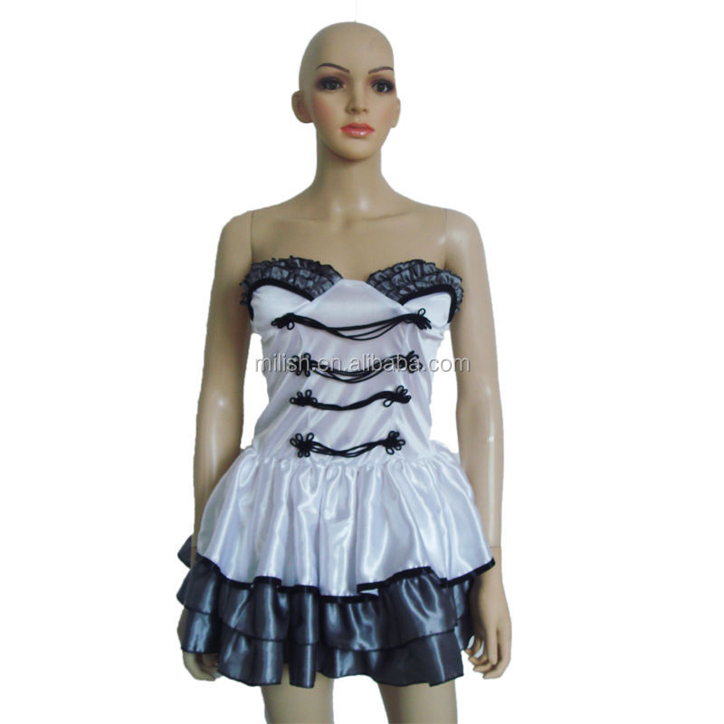 Party Halloween Carnival Women Sexy Cigarette Girl Dress Costume MAA-10