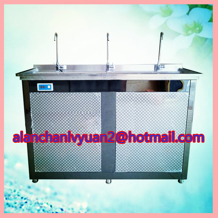 Energy saving water fountain/stainless cold drinking station
