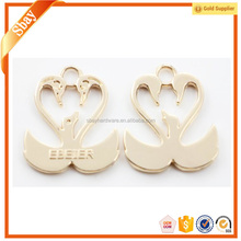 Fashion decorative golden reflective ring zipper pull
