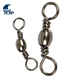 Fishing Lure Accessory swivel quick snap Fishing Connector 5 to 24mm Fishing Tackle Accessory Barrel Swivel