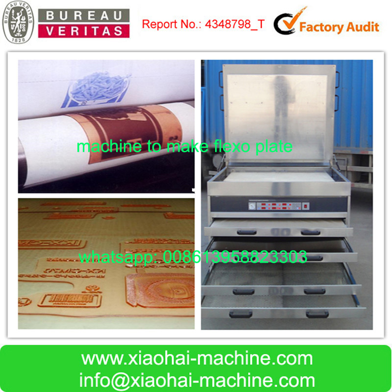 Photopolymer Plate Making Equipment And photopolymer flexo printing plate