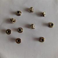 JDB1020 Inlaid graphite solid self lubricating oil bearing,14*10*20 graphite copper sleeve,oil bearing bushing