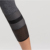 Quick dry ribbon stitching high waist breathable women gym leggings
