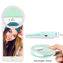 camera flash selfie ring light for cell phone