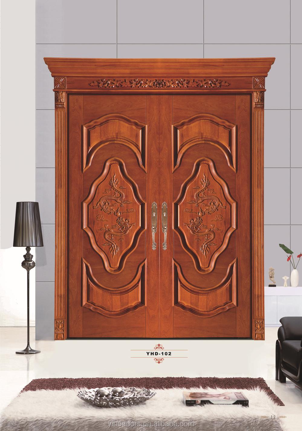 Holz Mode Sicherheits Dekorative Innentür Rahmen - Buy Product on ...