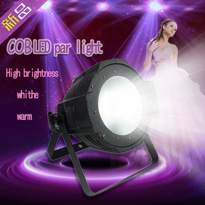 DJ high brightness rgb 100w 200w warm COB Led par 64 can led guangzhou stage light